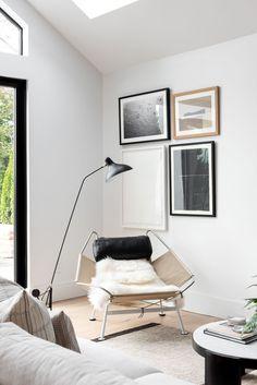 Modern & Minimal Living & Kitchen Space - Studio McGee Cozy Living Spaces, Formal Living Rooms, Studio Mcgee, Rye New York, New York Projects, Beautiful Modern Homes, Minimal Living, Modern Bedroom, Decoration