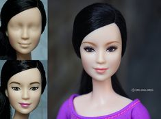 repaint Made to move Barbie doll *asian face | repaint Made … | Flickr                                                                                                                                                                                 More
