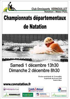 01/12/2012 Natation : Départementaux