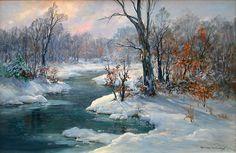Charles Vickery: Original Paintings: Item# 17396