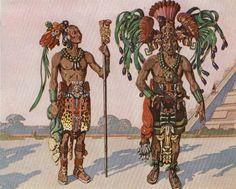 Mayan priests.