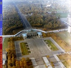 Aerial pictures of the Berlin Wall on the Brandenburg Gate and the Reichstag Source by walter_olthof West Berlin, Berlin Wall, East Germany, Berlin Germany, Germany Area, Brandenburg Gate, Teaching History, City Streets, Historical Photos