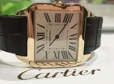 Pre owned Cartier Santos Dumont full set boxes and papers Beautiful classic Cartier. Cartier Santos, Pre Owned Watches, Fine Watches, Full Set, Boxes, Classic, Accessories, Beautiful, Derby