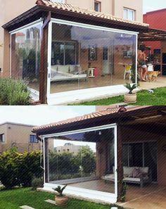 Cierres de terraza para que la disfrutes en este invierno, cotiza en contacto@ampliate.cl
