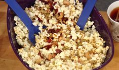 Buttered, Cool Ranch and Pepperoni Popcorn