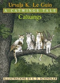Catwings as part of Chapter Books for Preschoolers List