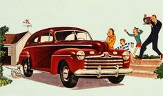 Adoring the 1946 Ford