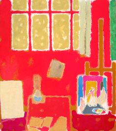 Matisse Art, 10 December, Shades Of Red, Color Splash, Objects, Fine Art, Illustration, Crafts, Painting