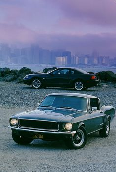 Movie: Bullitt (1968)  Car: 1968 Ford Mustang GT 390