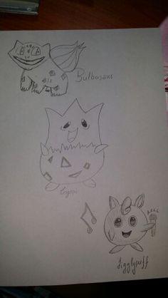 #bulbasaur #togepi #jigglypuff #pokemon