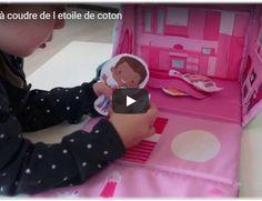 Kit à coudre enfant : ma maison de tissu en action