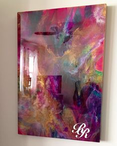 """162 Likes, 16 Comments - Beth Desrosiers (@beth_d_resin_reflections) on Instagram: """"""""Memories of Summer"""" Shining in TN . . . . #artsy #art #artresin #abstractexpressionism…"""""""