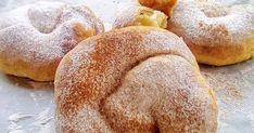 Ελληνικές συνταγές για νόστιμο, υγιεινό και οικονομικό φαγητό. Δοκιμάστε τες όλες Almond Cookies, Bagel, Finger Foods, Hamburger, Cooking Recipes, Sweets, Bread, Gummi Candy, Finger Food