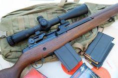 Springfield Armory M1A Standard with Hawke Optics Sidewinder 30 scope