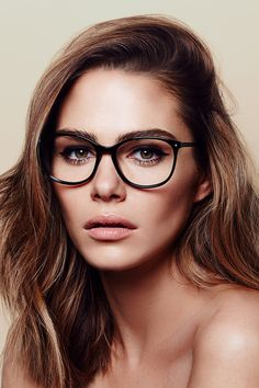 Maripier Morin X BonLook Glasses : Nadine Pitch Black - Glasses Frames Glasses For Oval Faces, Big Glasses, Girls With Glasses, Bon Look, Womens Glasses Frames, Lunette Style, Fashion Eye Glasses, Wearing Glasses, Glasses Outfit