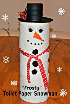This Ole Mom: Frosty Toilet Paper Snowman using Cottonelle  Toilet Paper  #imabzzagent  #gotitfree