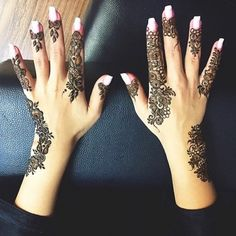 Henna Ideas From Instagram | 26 Striking Henna Designs That Will Leave You Breathless | POPSUGAR Beauty UK Photo 9