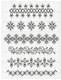 Cusaturi artizanale folosite in freestyle patchwork Motifs Blackwork, Blackwork Cross Stitch, Blackwork Embroidery, Embroidery Motifs, Cross Stitch Borders, Cross Stitch Samplers, Cross Stitch Designs, Cross Stitch Embroidery, Cross Stitch Patterns