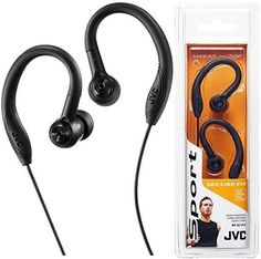 These bass boosting JVC in ear sports headphones are designed for activity being sweat resistant. Bluetooth In Ear Headphones, Sports Headphones, Clip, Ebay, Black, Helmets, Everything, Black People