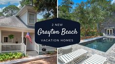 Tuckaway and Pine Cover are the two newest vacation rental homes in Grayton Beach.  We now offer 47 different places for you to choose from in Grayton! Rental Homes, Find People, The Dunes, Paddle Boarding, Seaside, Paths, Pine, Coastal, Relax