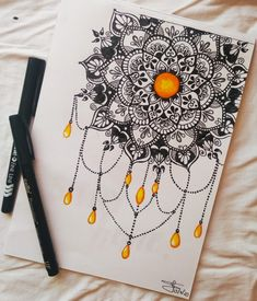 Does this reminds you of something? Rate it from 1 to 10 . Easy Mandala Drawing, Mandala Art Lesson, Mandala Artwork, Doodle Art Drawing, Zentangle Drawings, Cool Art Drawings, Pencil Art Drawings, Doodle Zen, Mandala Doodle