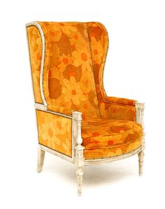 Flower Hi-Back Chair