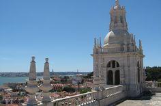 Miradouro do Mosteiro de São Vicente de Fora, Lisboa