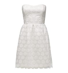 Forever New PORCELAIN LINDA SCALLOPED EDGE DRESS