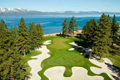 Edgewood Golf Course in Lake Tahoe Neveda.