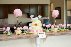 oh the places you'll go party supplies | oh the places you'll go cake and cupcakes for grad party