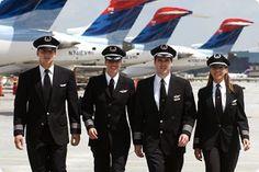 delta pilots | Delta Hiring Minimums, Delta Airline Pilot Salary, Delta Air Lines ...