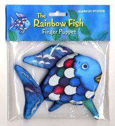 The Rainbow Fish Finger Puppet Buzz
