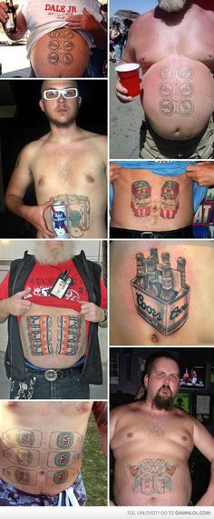 """Hot Six Packs For The Ladies-there not """"cool"""" per say lol but ..funny"""