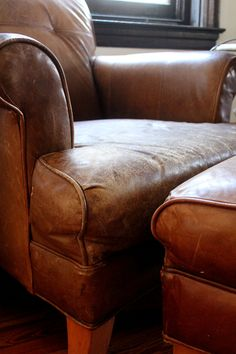 alll i want is a big leather chair to live my life in.