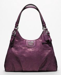 Madison Stitched Leather Maggie -- love the color!!