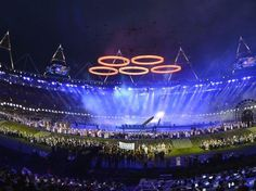 Best Olympic Ring Arrangement ever