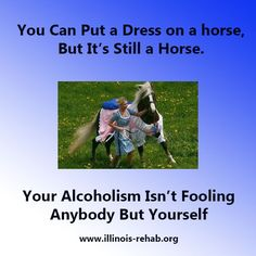 Stop Calling Your Addiction to alcohol something it is not. Face the issue and get help.