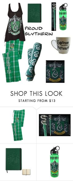 """""""Men's and women's slytherin pajamas"""" by slytherinbeauty ❤ liked on Polyvore featuring INC International Concepts"""