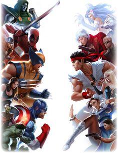 Marvel vs Capcom 3 by Marko Djurdjević