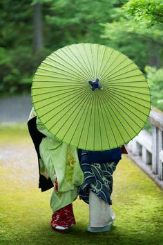 Japanese Kimono, Japanese Art, Japanese Couple, Palette Verte, Japan Kultur, Image Zen, Samurai, Foto Poster, Memoirs Of A Geisha