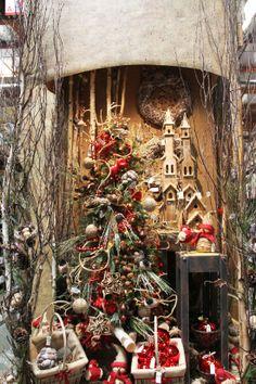 "Rustic Christmas Display 2013  ""The Decorator's Super Christmas Warehouse"" Santa Ana, Ca, San Diego, Ca & Online www.shinodadesigncenter.net"