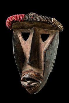 Dan Kagle (Kaogle) Mask, Ivory Coast http://www.imodara.com/post/93252493944/ivory-coast-dan-kagle-animal-mask-kaogle