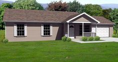 Traditional House Plan 70173 Elevation