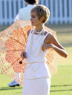 Isabel Lucas short hairstyle pixie