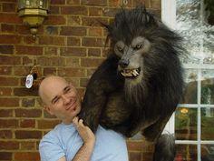 Assorted werewolf parts for a werewolf puppet by Romaire Studios. #WerewolfWednesday
