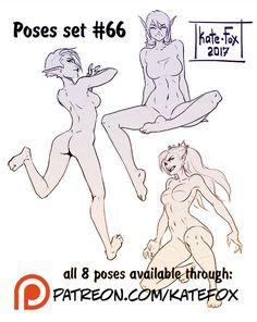 Kate Fox is creating Comics, 2D art, pose-study sets and fox-illustration | Patreon