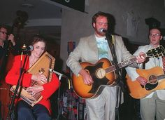 Los Angeles CA June Carter Cash and Johnny Cash's son perform a track from their new CD at Virgin Mega Store Photo David Keeler/Online USA Inc