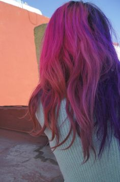 Sunset Hair, The Past, Hair Color, Long Hair Styles, Tumblr, Colour, Beauty, Color, Haircolor