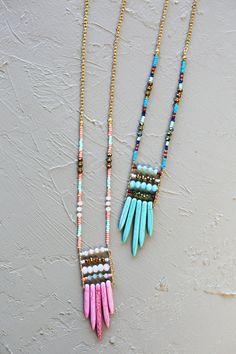 Masika Beaded Necklace from WhitePlum.