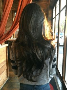 Sharp Lines, Clean Fade - 25 Exquisite Curly Mohawk Hairstyles For Girls & Women - The Trending Hairstyle Long Layered Hair, Long Hair Cuts, V Shaped Layered Hair, V Shaped Haircut, Pelo Popular, Medium Hair Styles, Curly Hair Styles, Down Hairstyles For Long Hair, Soft Hairstyles